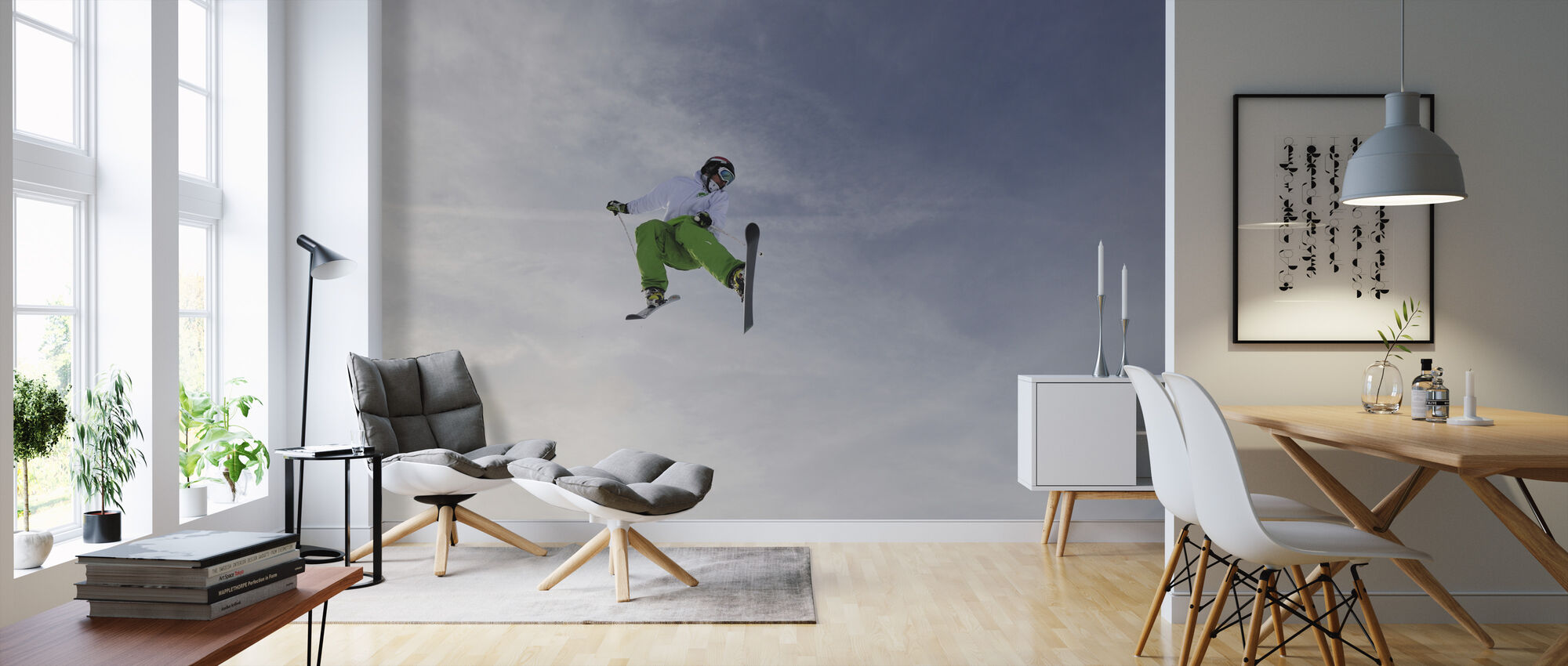 Freestyle Skiing - Wallpaper - Living Room