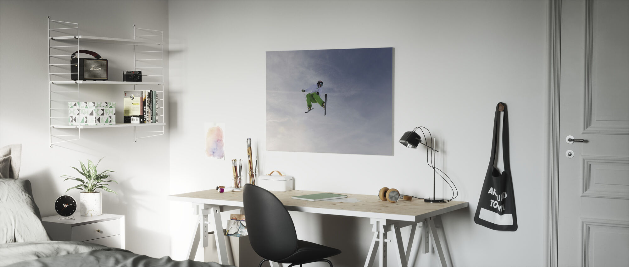 Freestyle Skiing - Canvas print - Kids Room