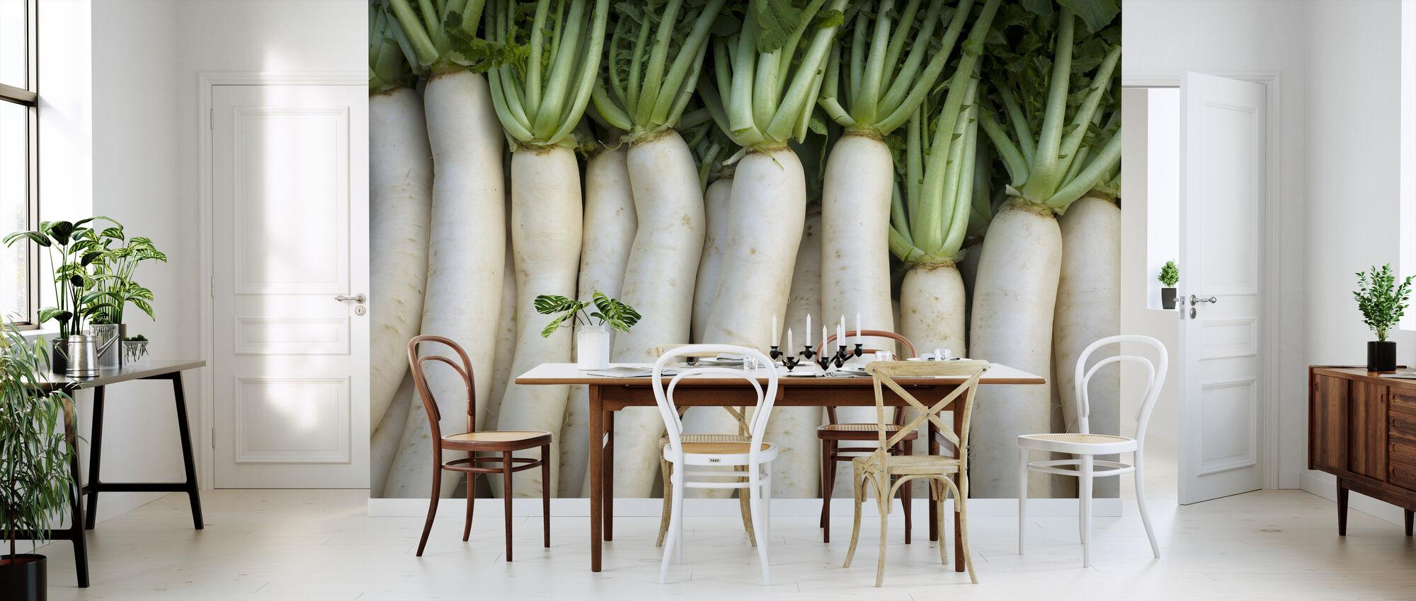 Turnips - Lluís Real - Wallpaper - Kitchen