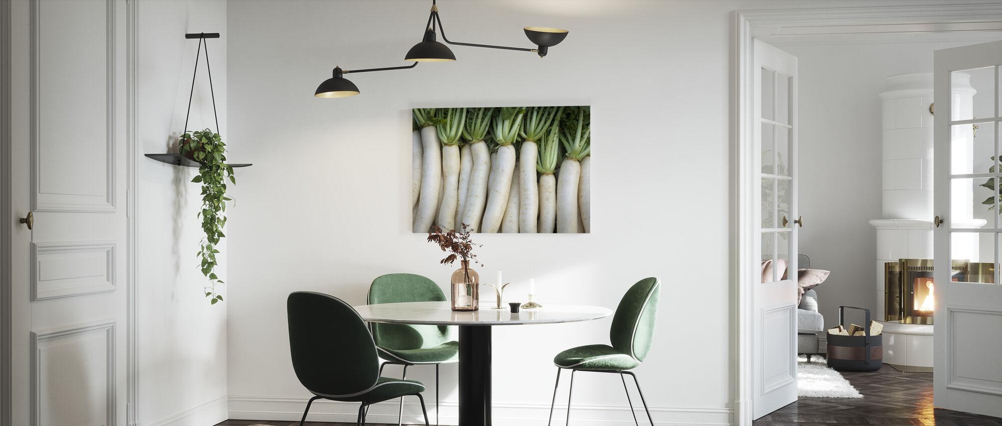Turnips - Lluís Real - Canvas print - Kitchen