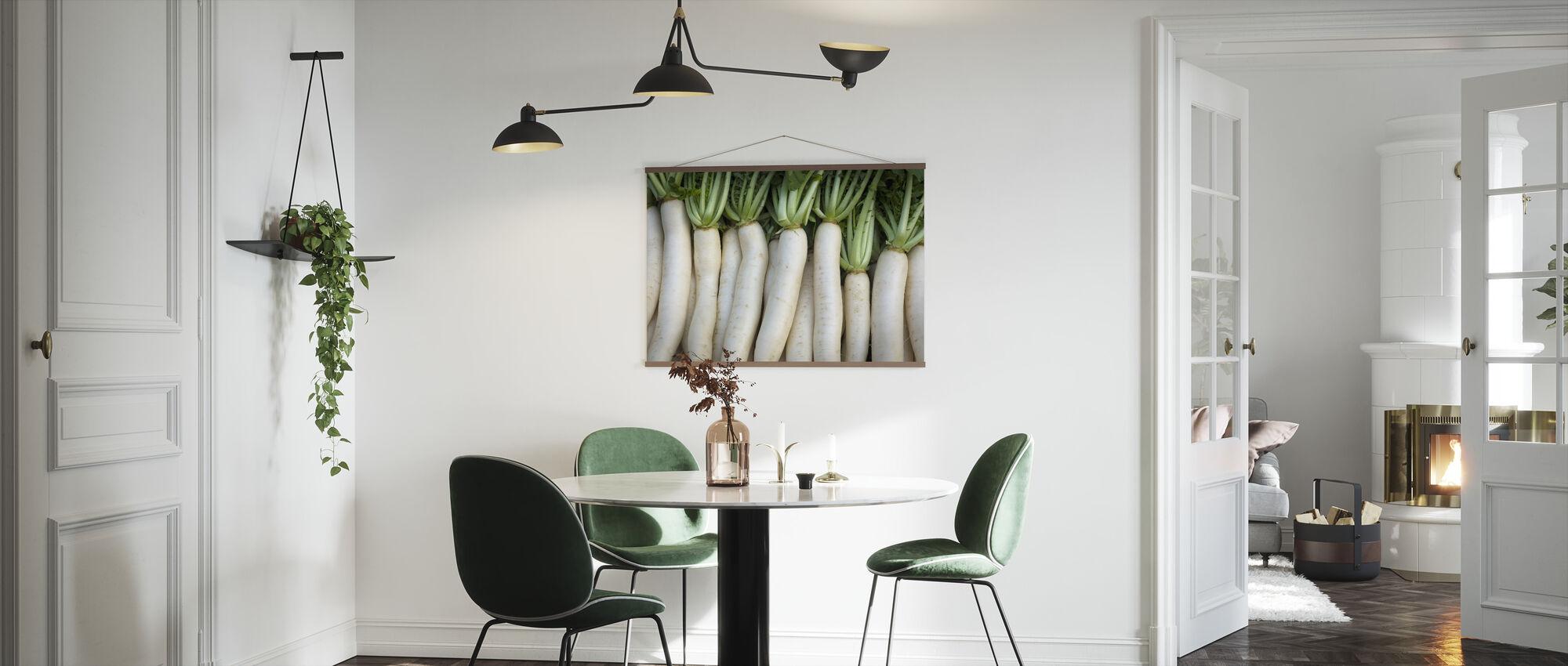 Turnips - Lluís Real - Poster - Kitchen