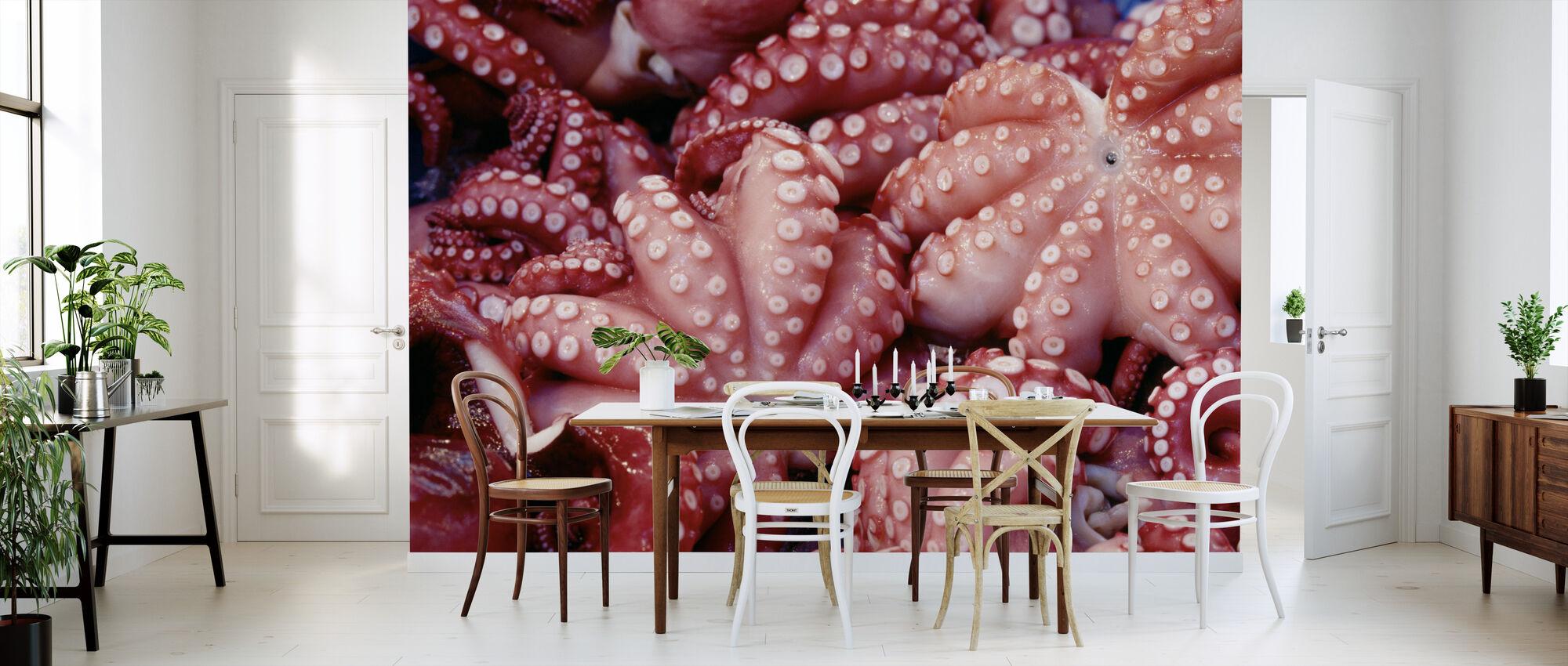 Japanese Octopus - Wallpaper - Kitchen