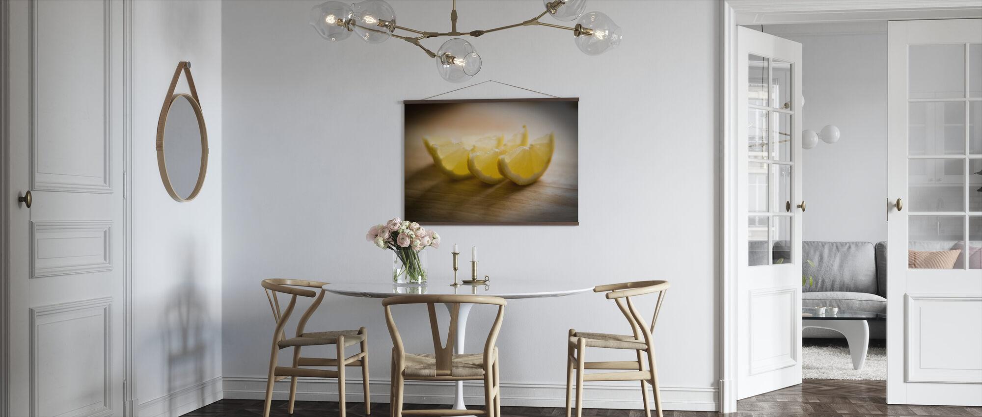 Freshly Sliced Lemon - Jesús Sierra - Poster - Kitchen