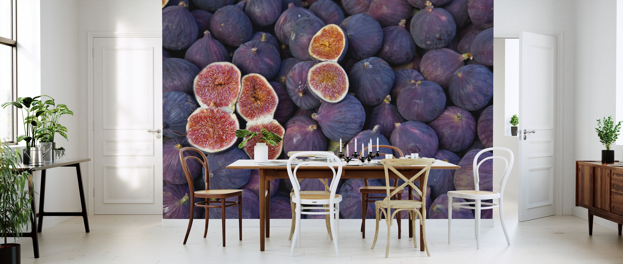 beautiful Figs - Wallpaper - Kitchen