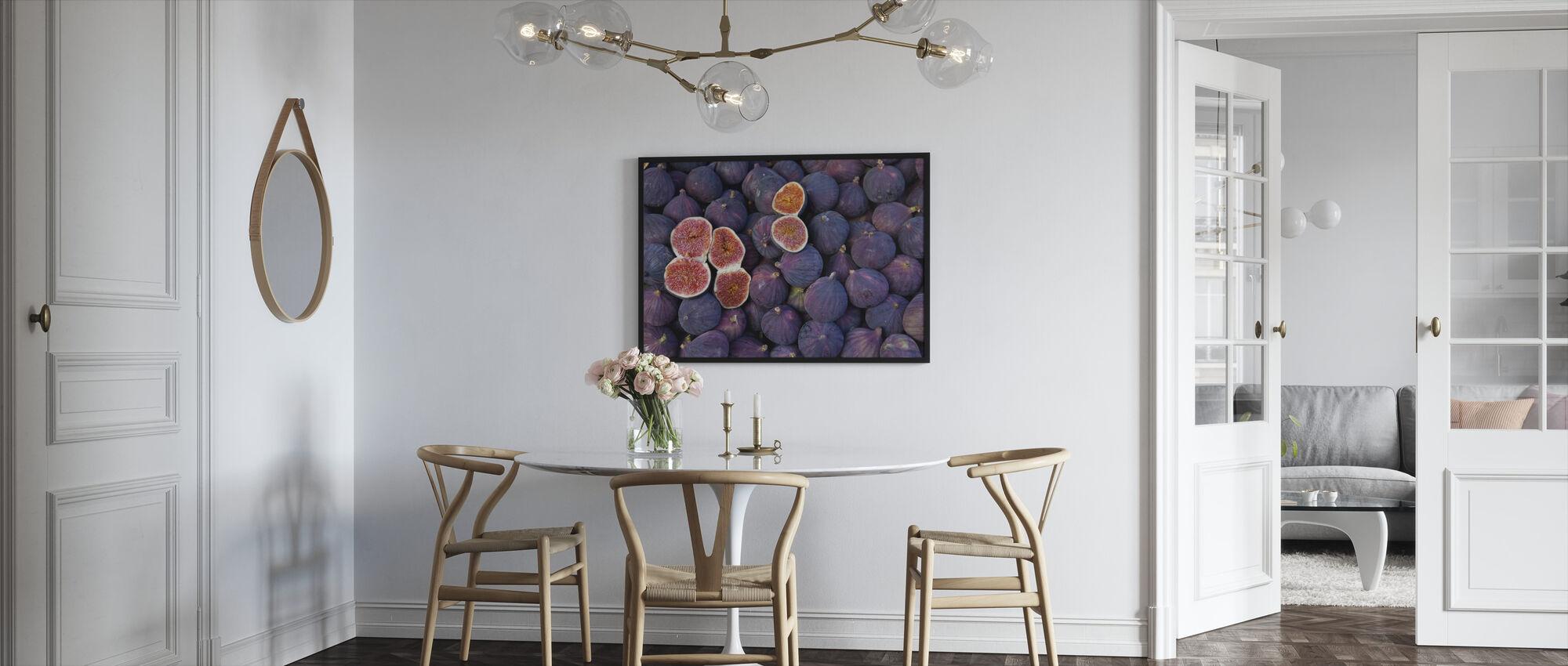 smukke Figner - Indrammet billede - Køkken