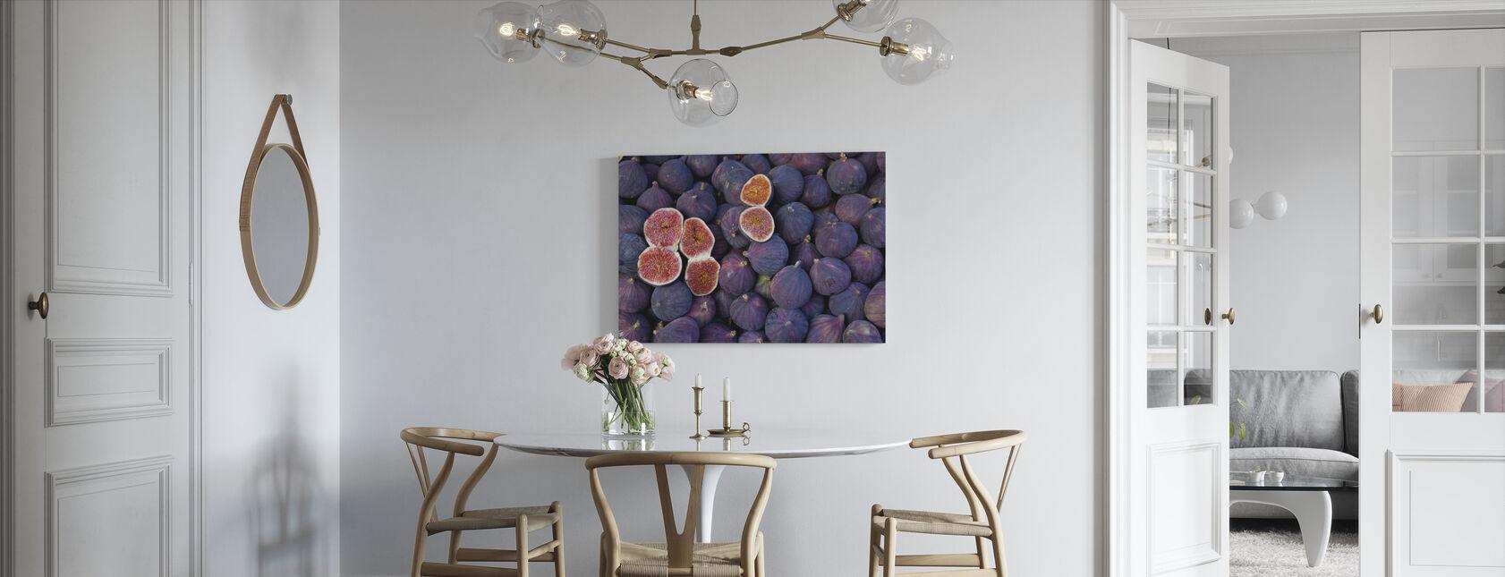 beautiful Figs - Canvas print - Kitchen