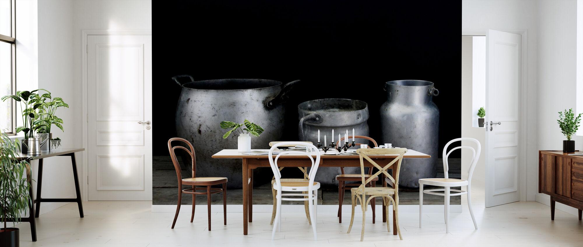 Vintage vessels - Wallpaper - Kitchen