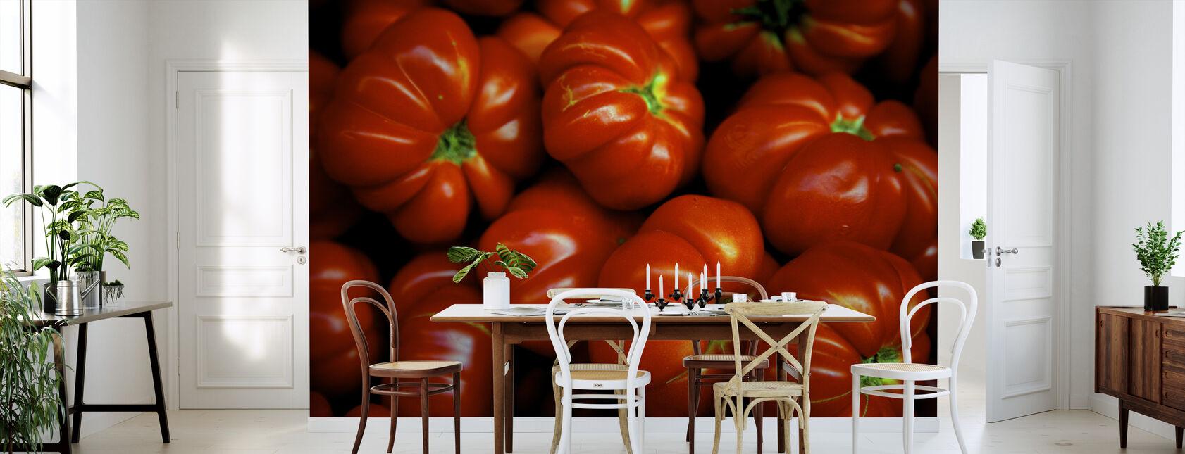 Italienske tomater - Tapet - Køkken