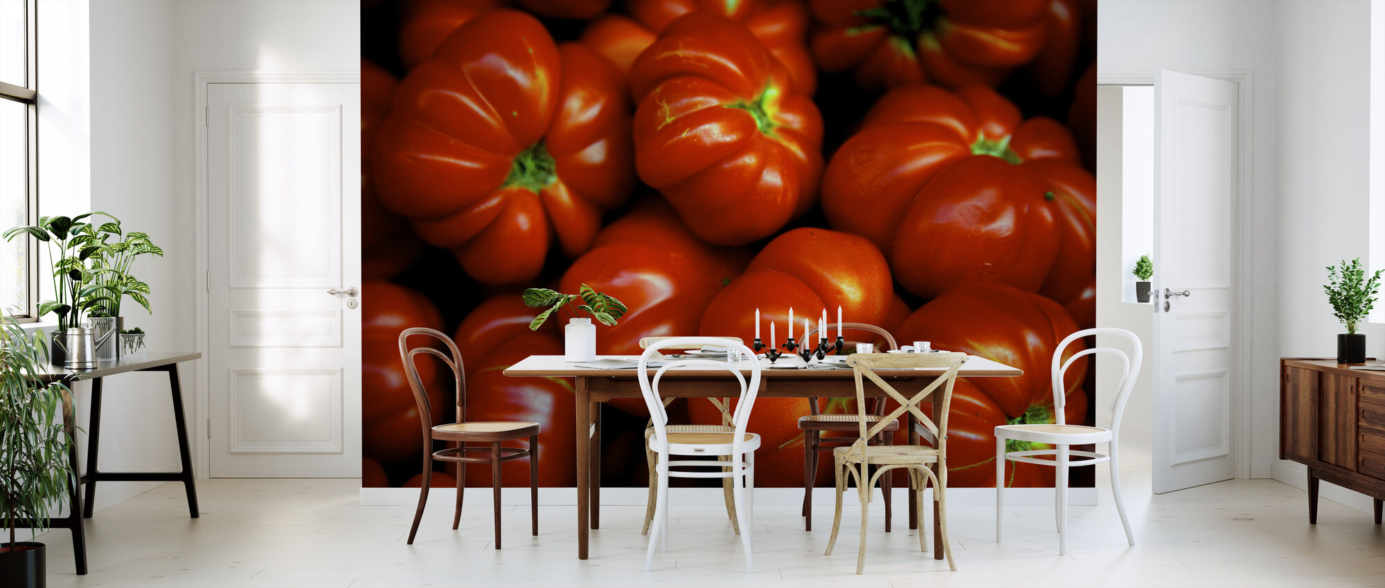 Italian Tomatoes - Wallpaper - Kitchen