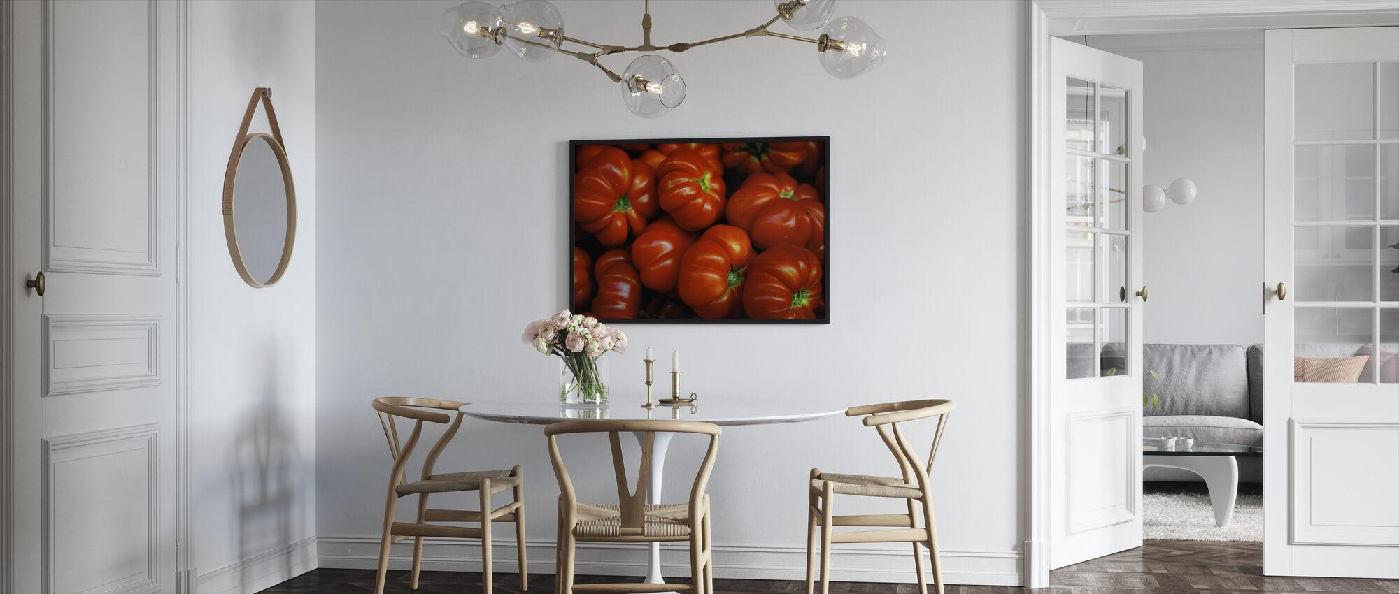 Italialaiset tomaatit - Kehystetty kuva - Keittiö