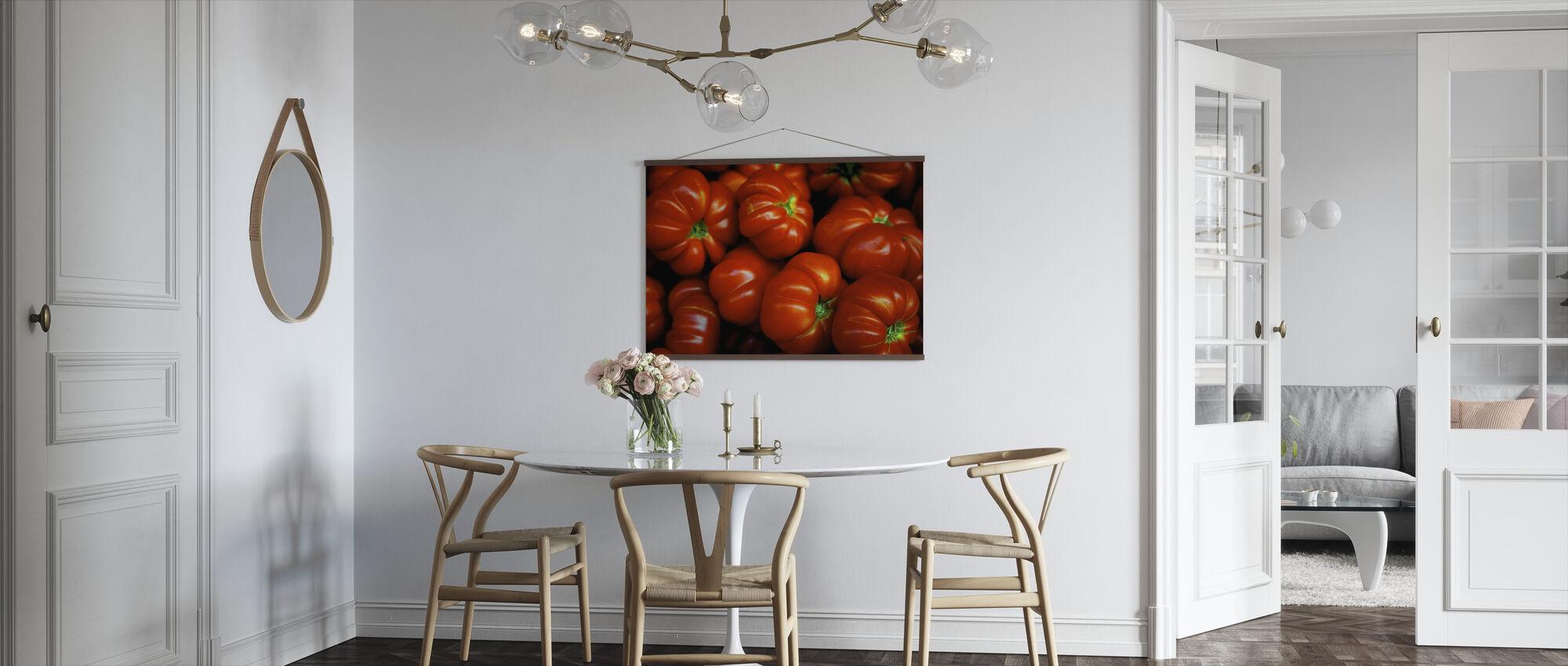 Italienske tomater - Plakat - Kjøkken