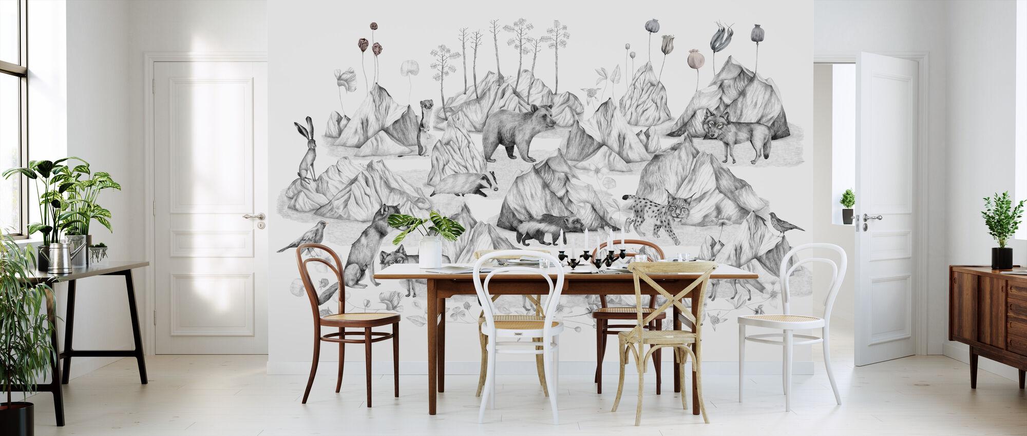 Free in My Landscape - Wallpaper - Kitchen