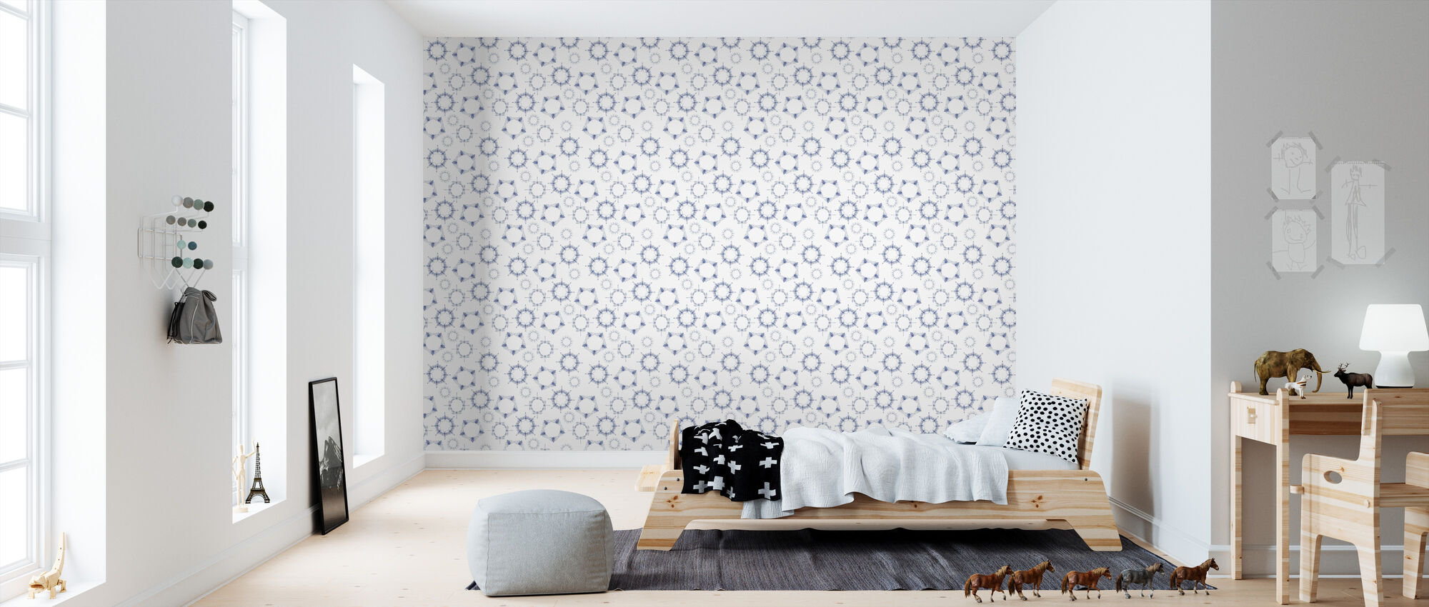 Flies - Wallpaper - Kids Room