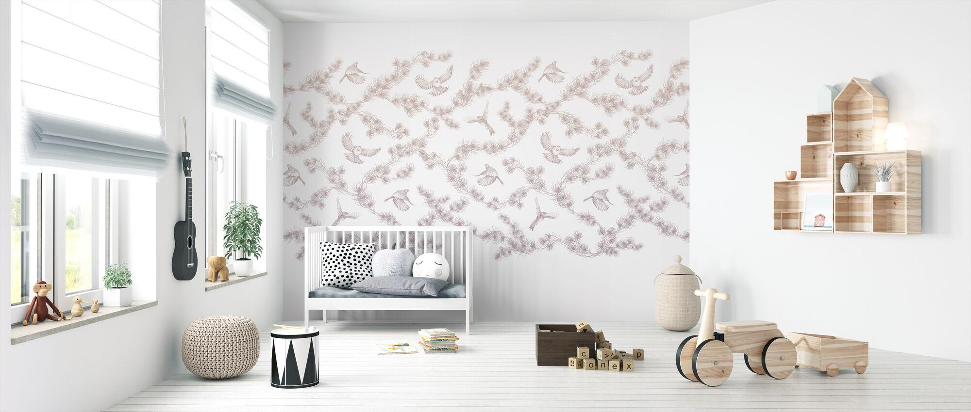 Spring Pines - Wallpaper - Nursery