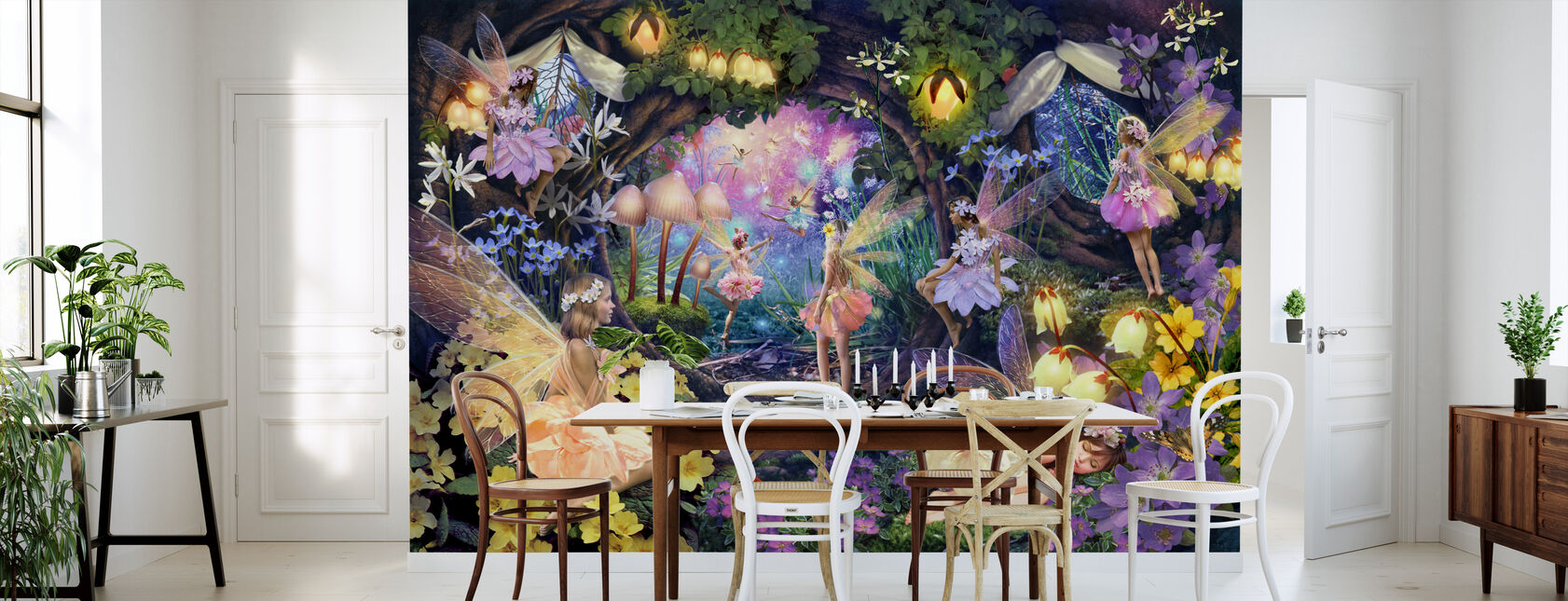 Fairy Hollow - Wallpaper - Kitchen
