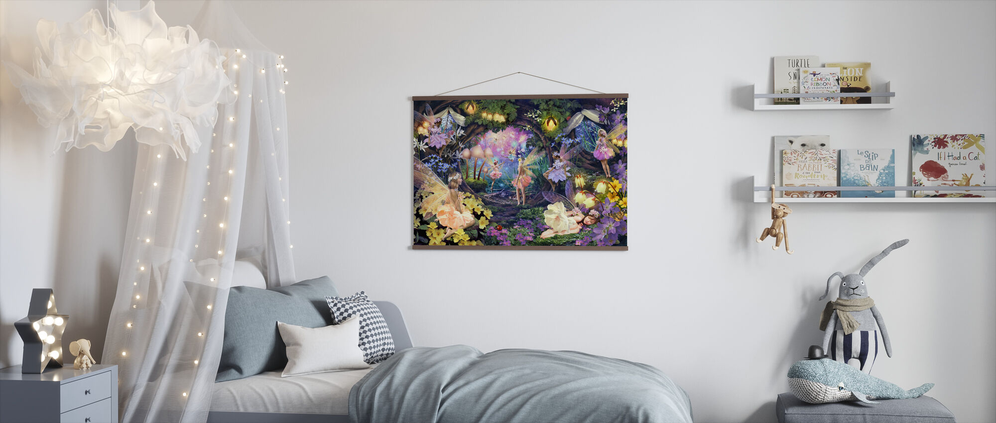 Fairy Hollow - Poster - Kids Room