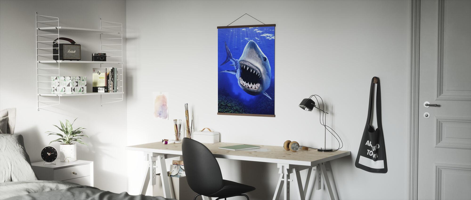 Shark Attack - Poster - Office