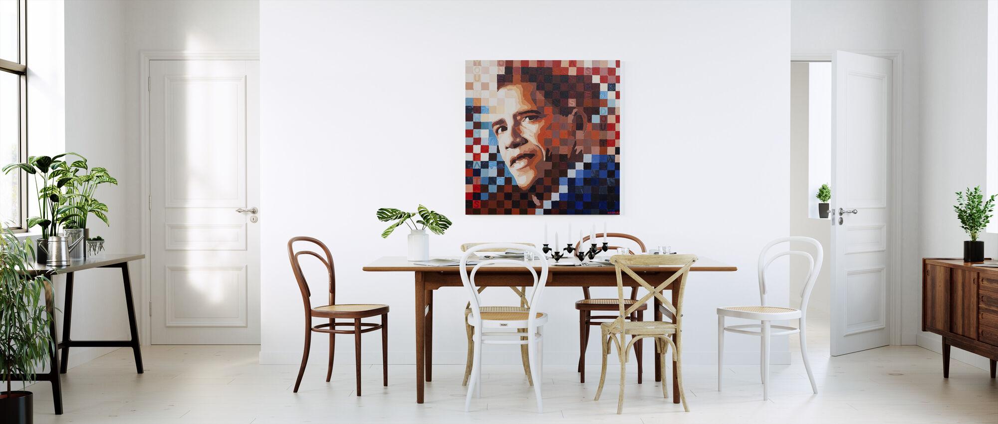 My Faith - Canvas print - Kitchen