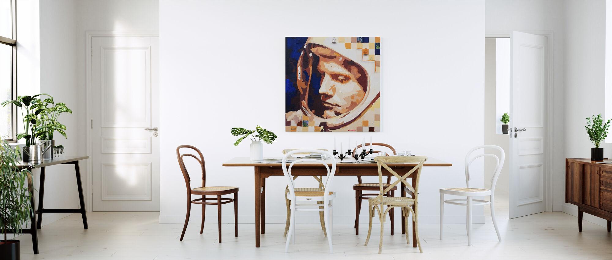 One Big Leap - Canvas print - Kitchen