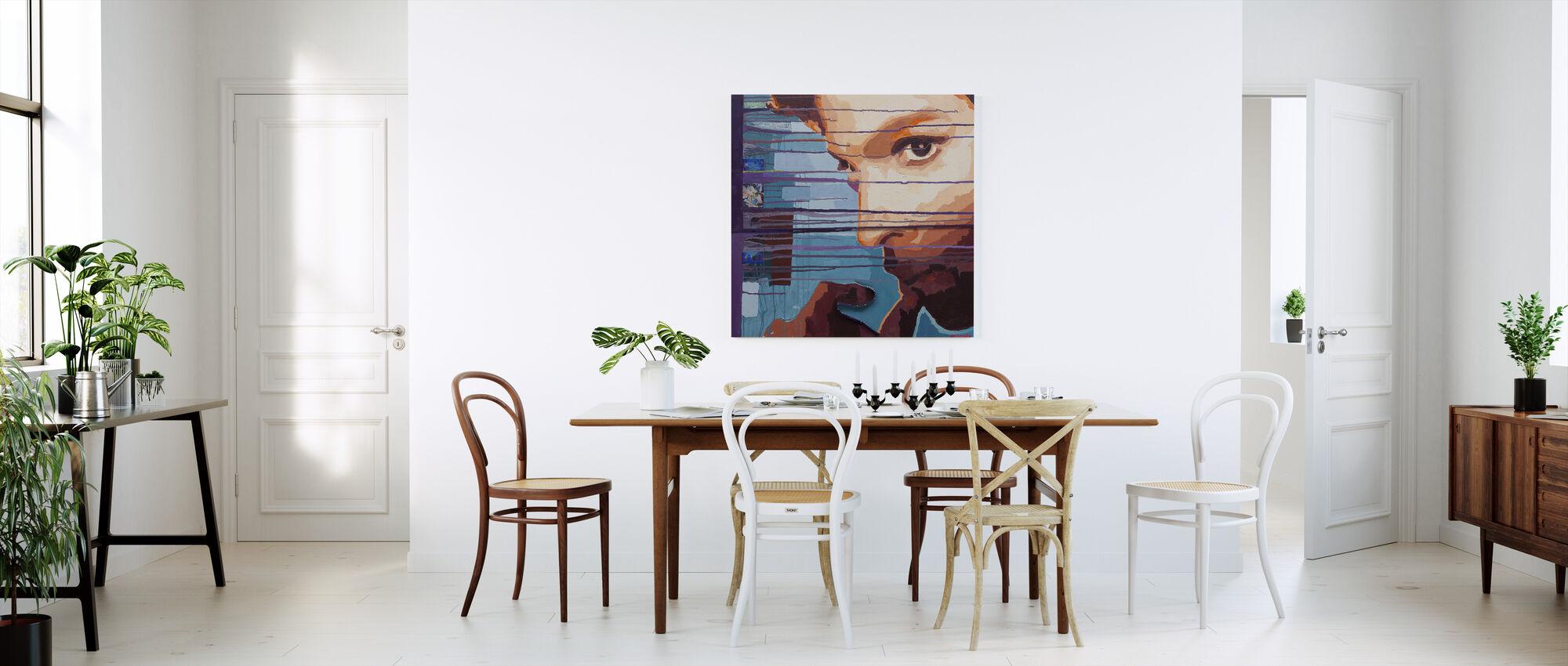 Purple Rain - Canvas print - Kitchen