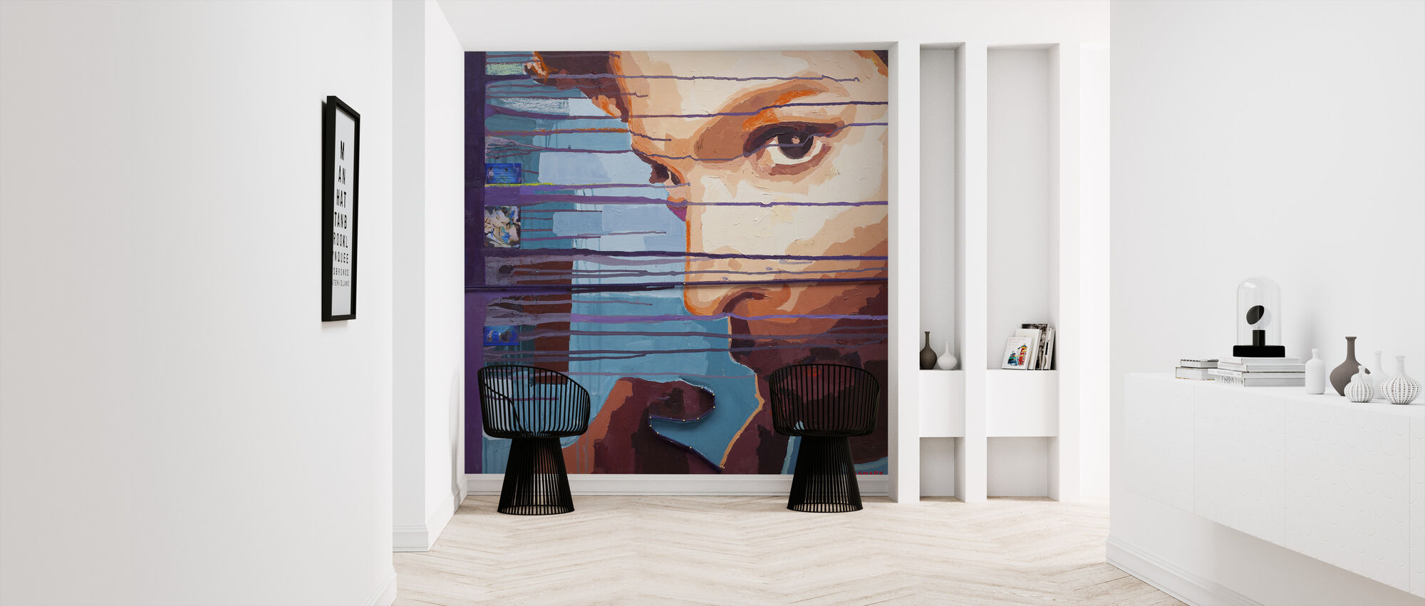 Purple Rain - Wallpaper - Hallway