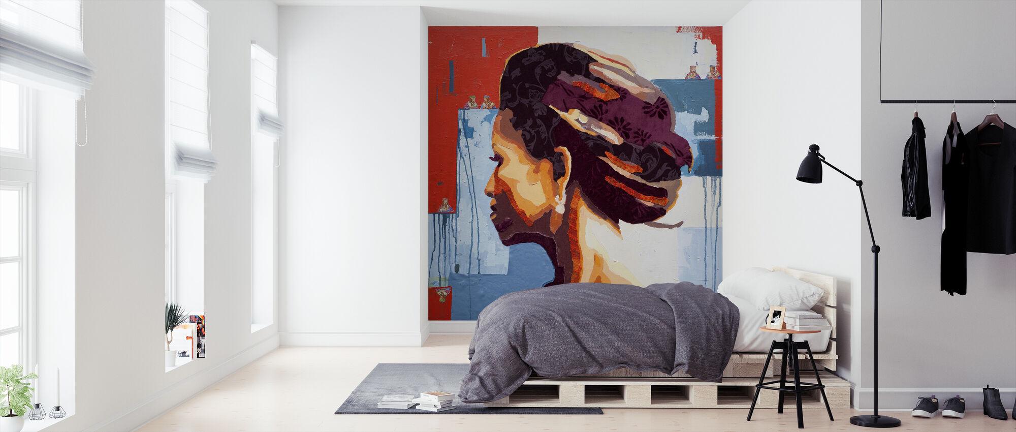 Queen of Spades - Wallpaper - Bedroom
