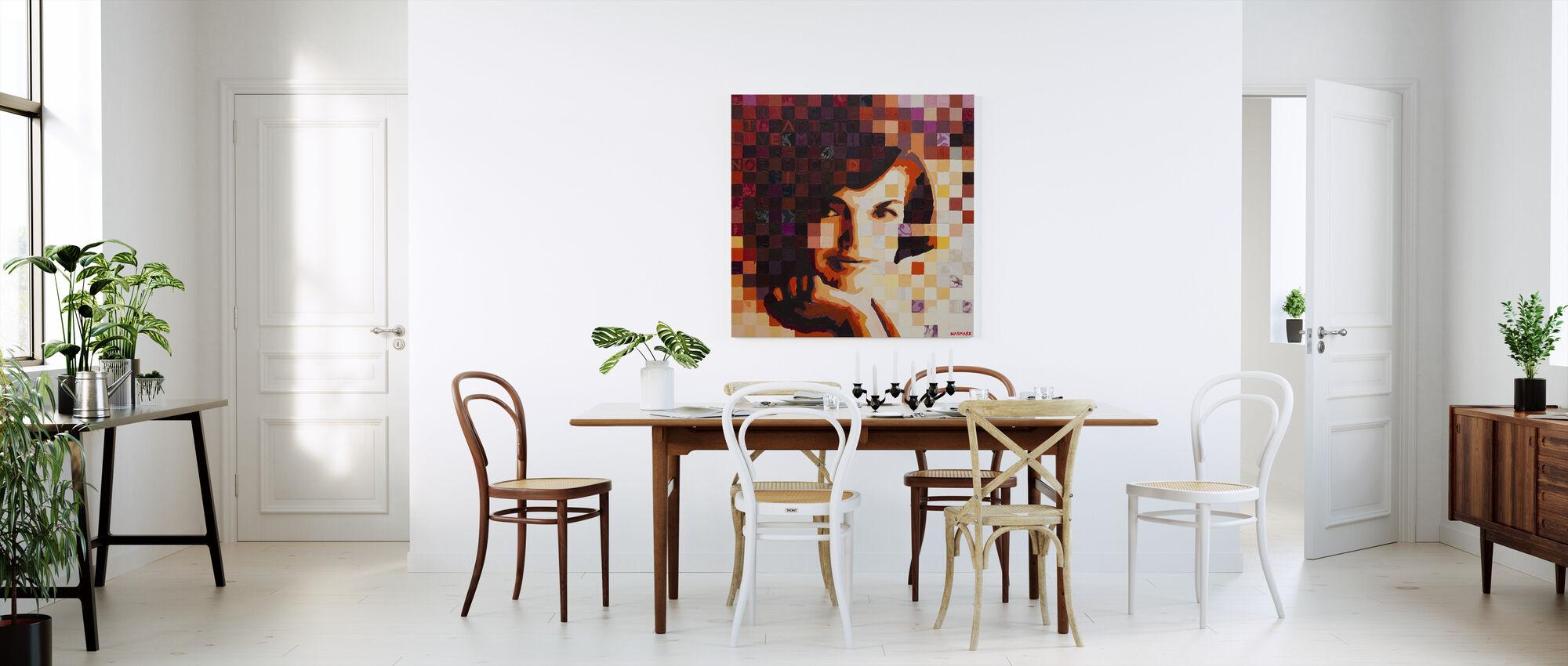 US Queen - Canvas print - Kitchen