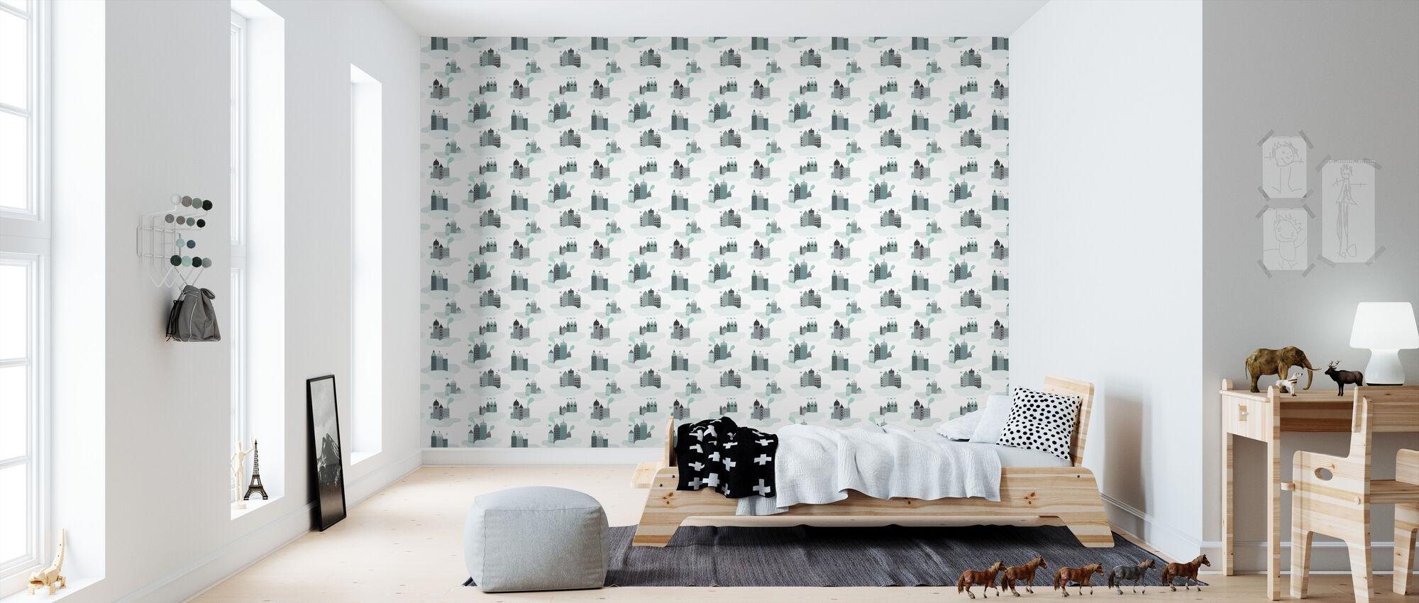 Sky City - Wallpaper - Kids Room
