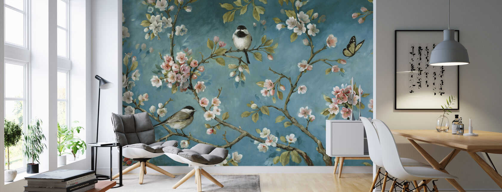 Blossom - Wallpaper - Living Room