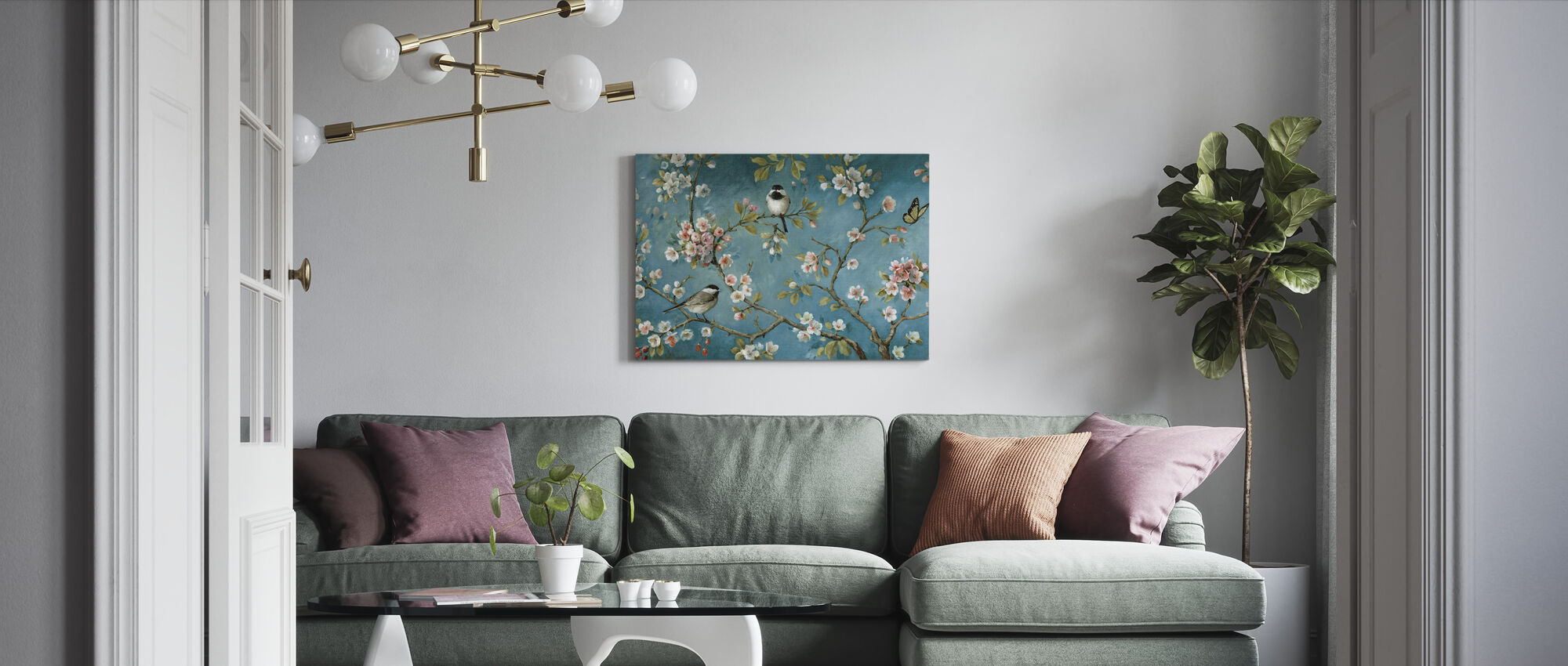 Blossom - Canvas print - Living Room