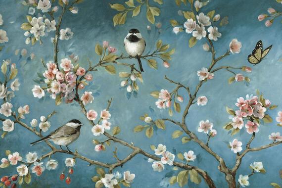 Behang Kinderkamer Vogeltjes : Vogels u2013 populair fotobehang u2013 photowall