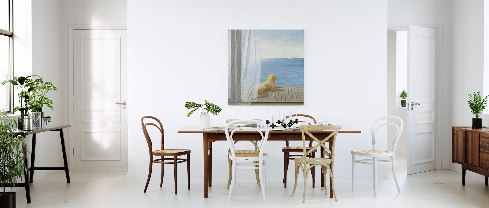 Blue Breeze 3 - Canvas print - Kitchen