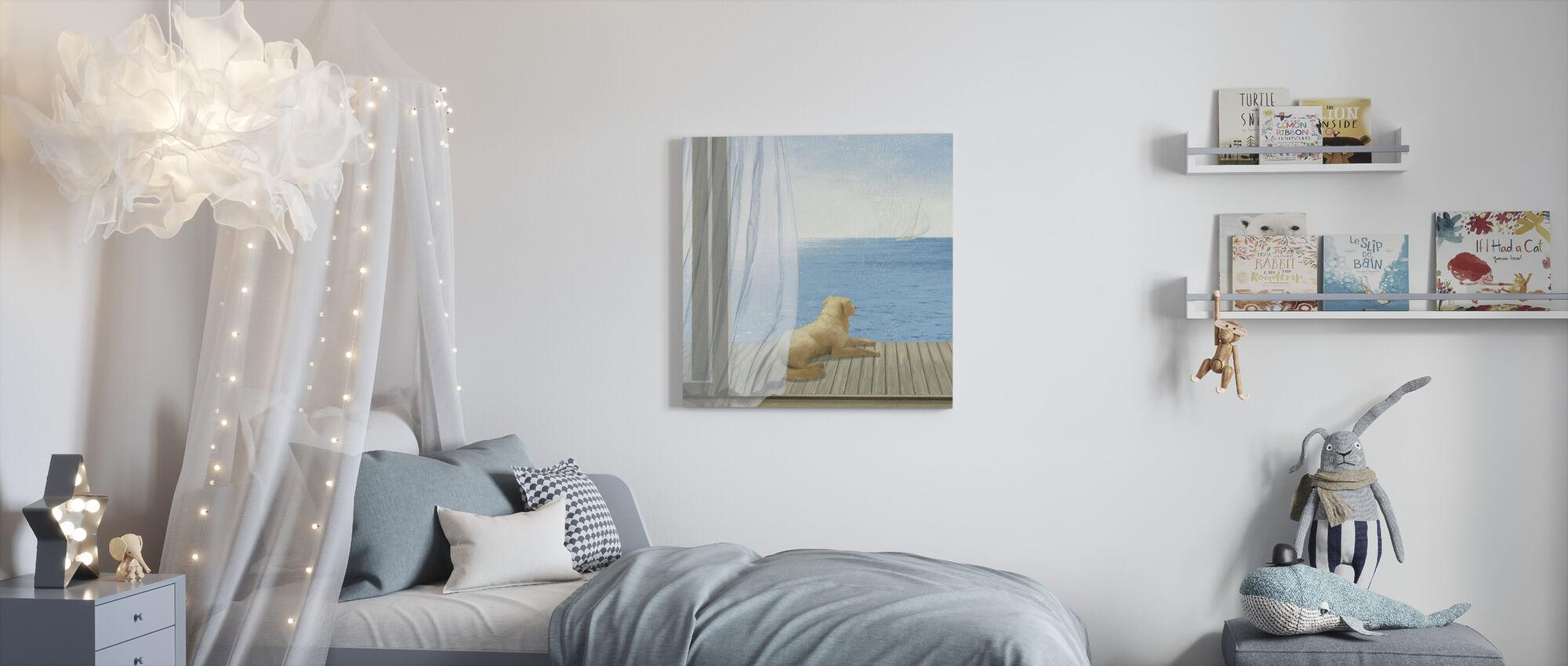 Blue Breeze 3 - Canvas print - Kids Room