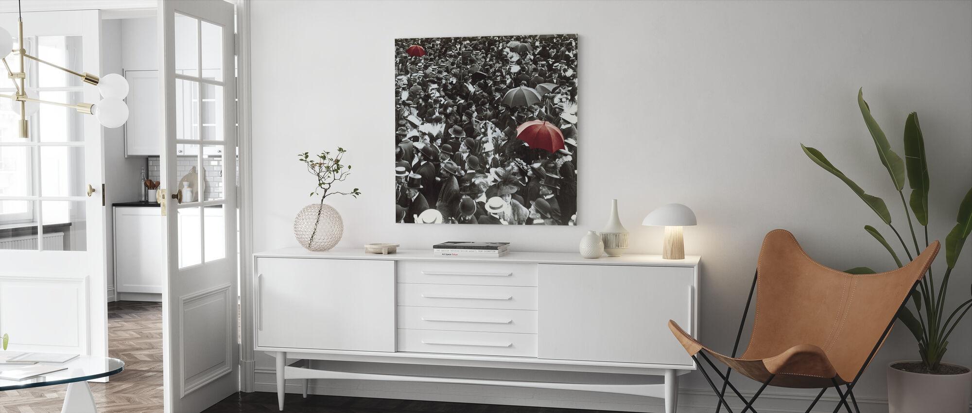 De kroning - Canvas print - Woonkamer