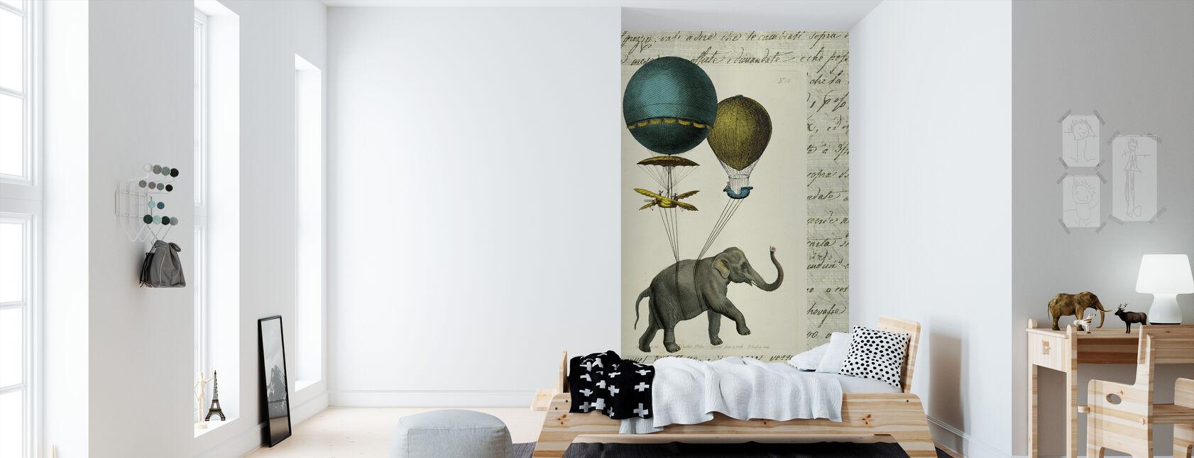 Elephant Ride 2 - Wallpaper - Kids Room