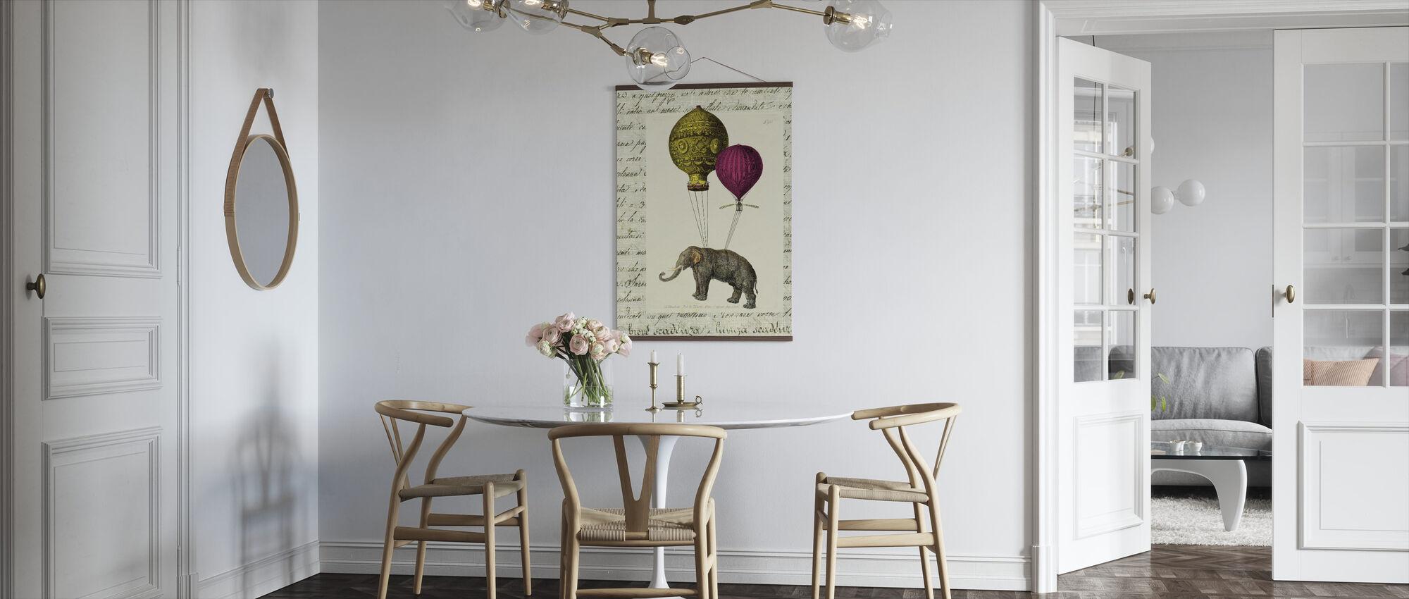 Elephant Ride - Poster - Kitchen