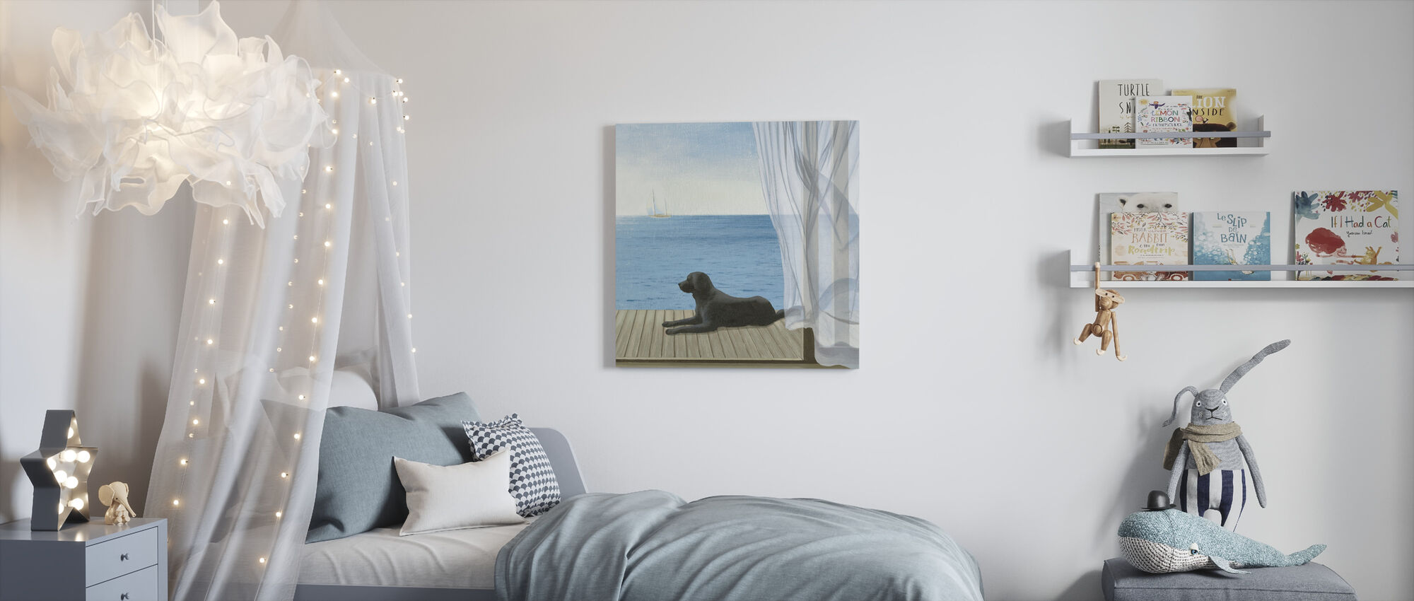 Blue Breeze 2 - Canvas print - Kids Room
