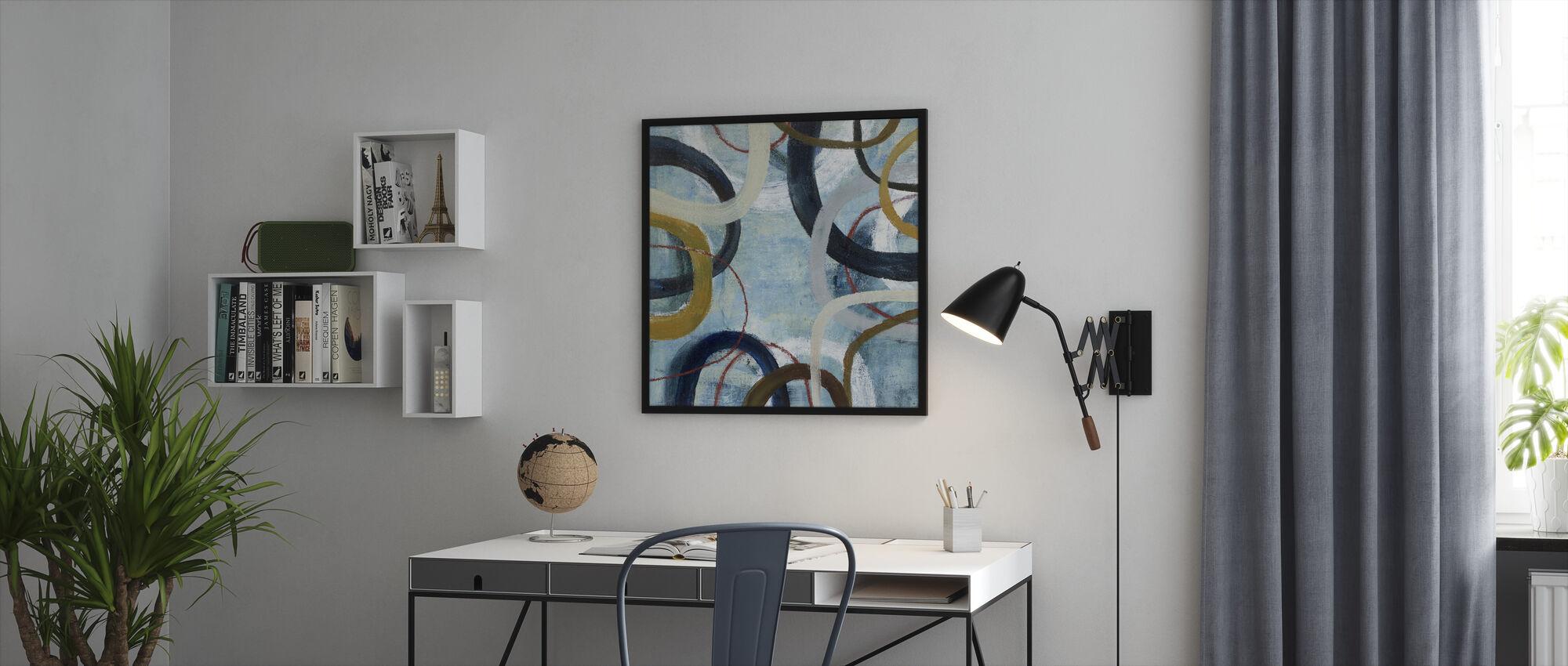 Dwell - Framed print - Office