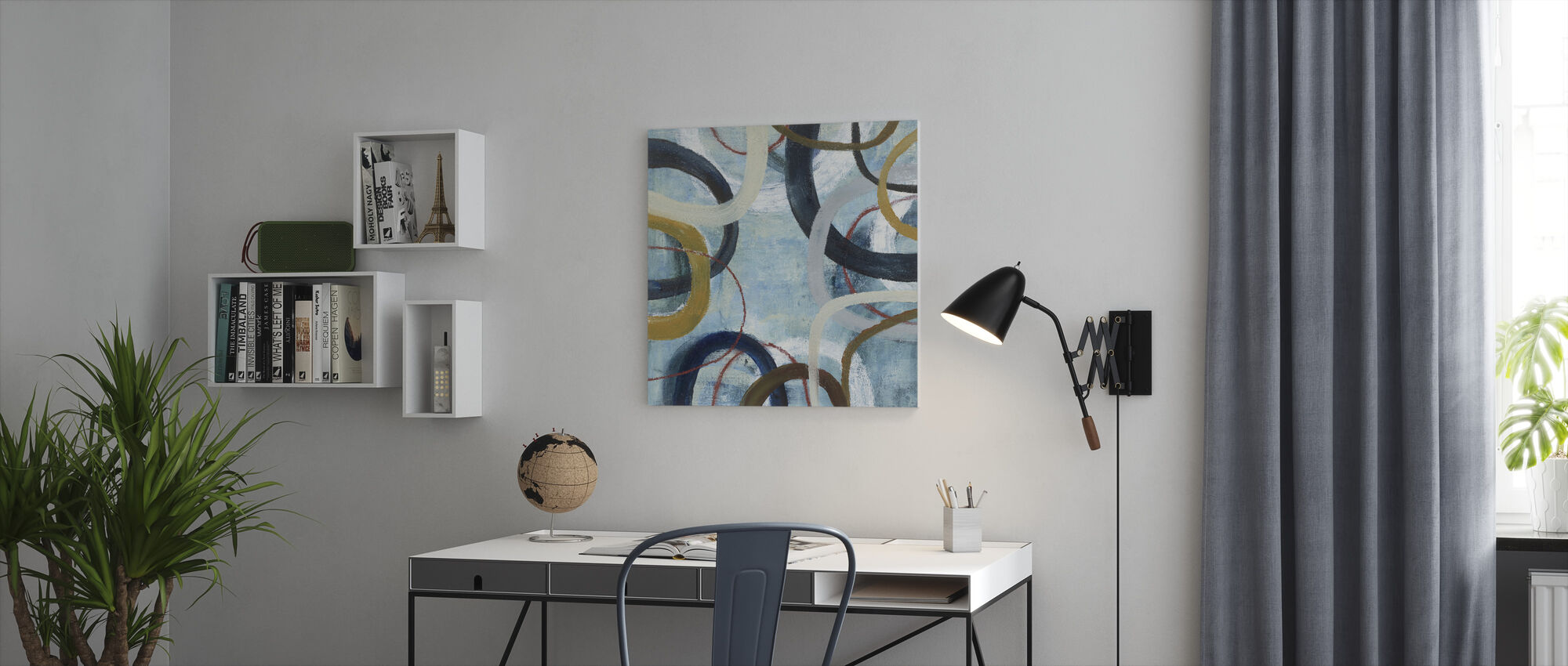Dwell - Canvas print - Office