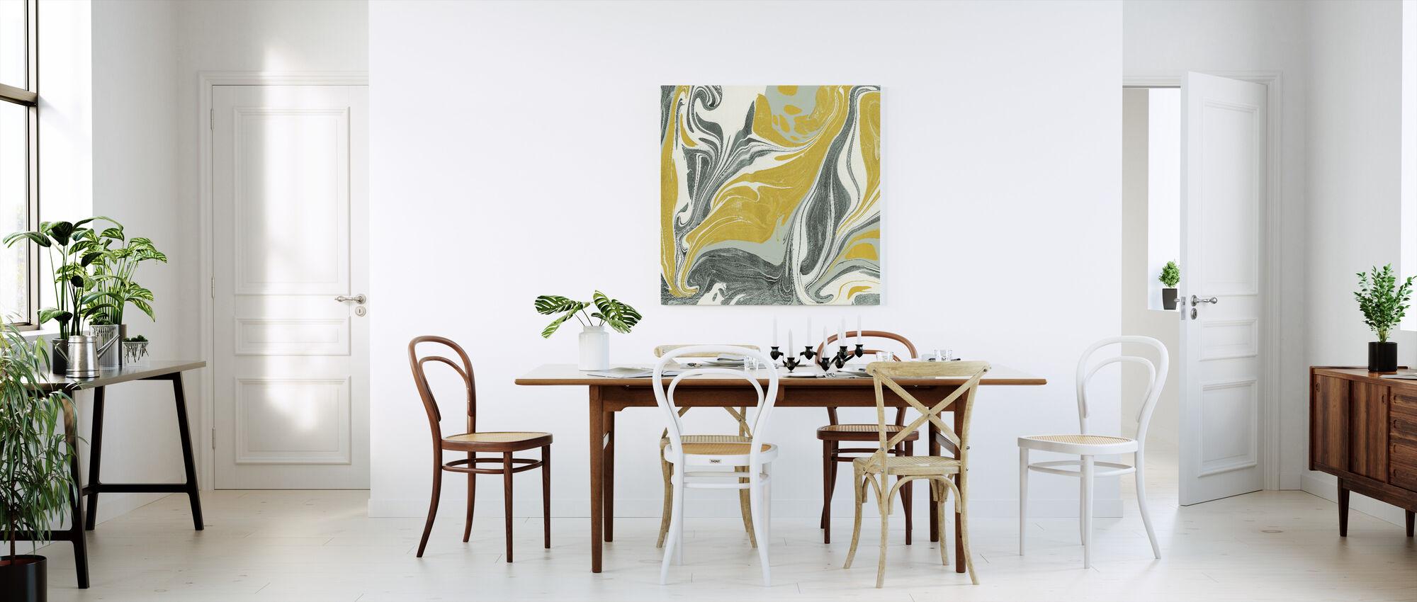 Marmering - Canvas print - Keuken