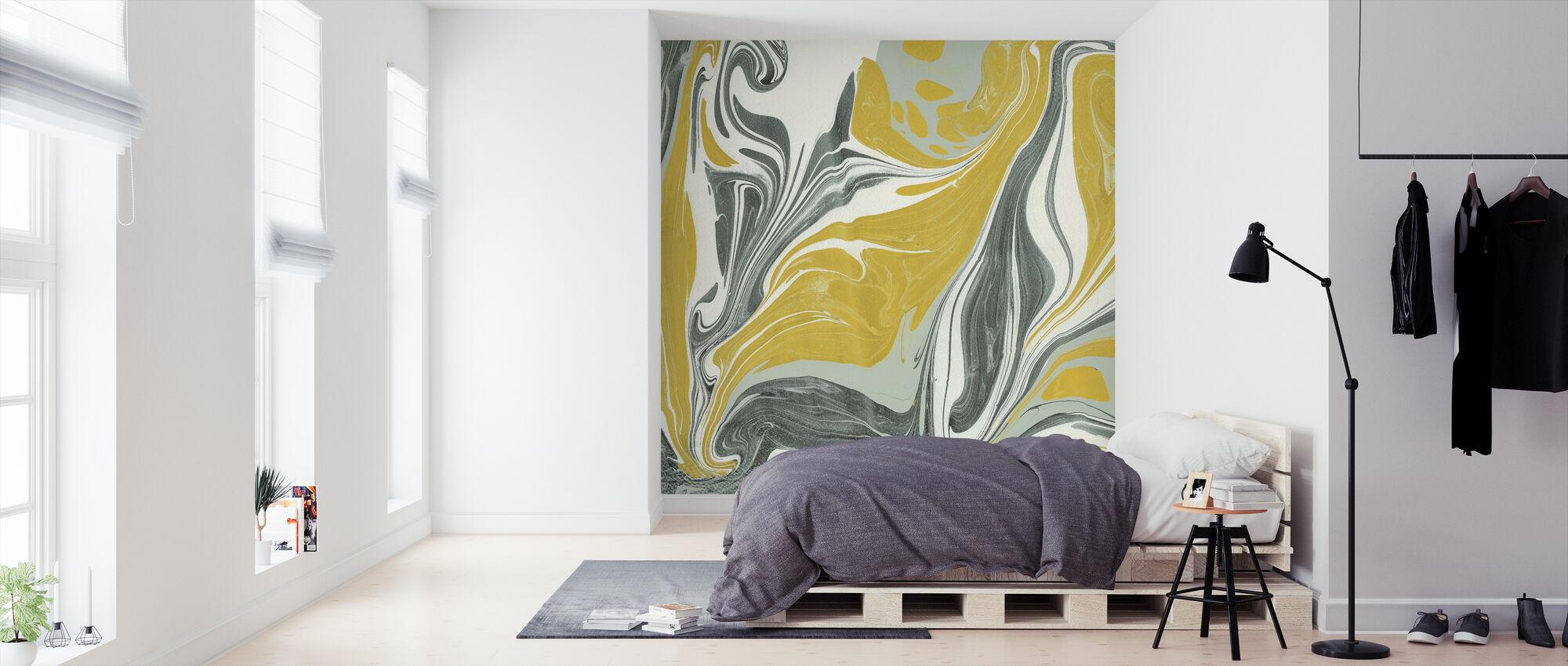 Marmering - Behang - Slaapkamer