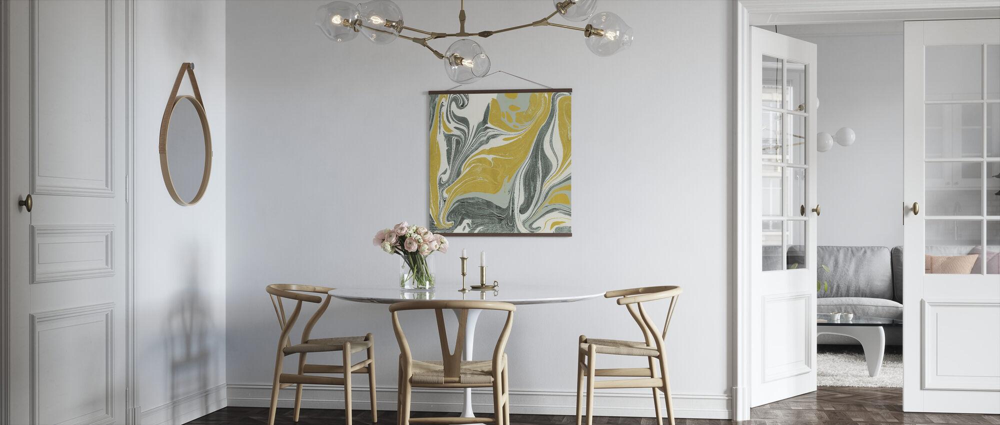 Marbling - Poster - Kitchen