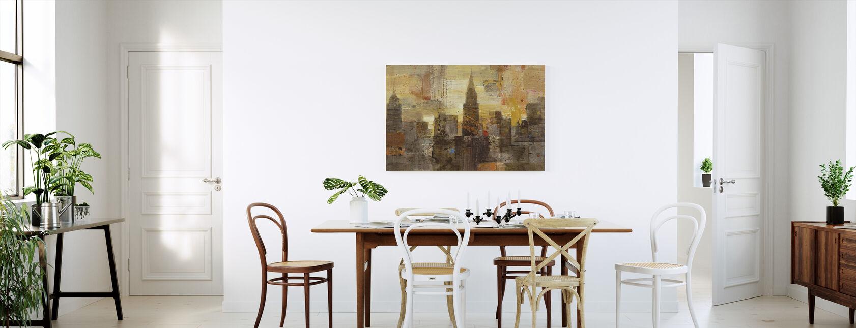 Vuurwerk - Canvas print - Keuken