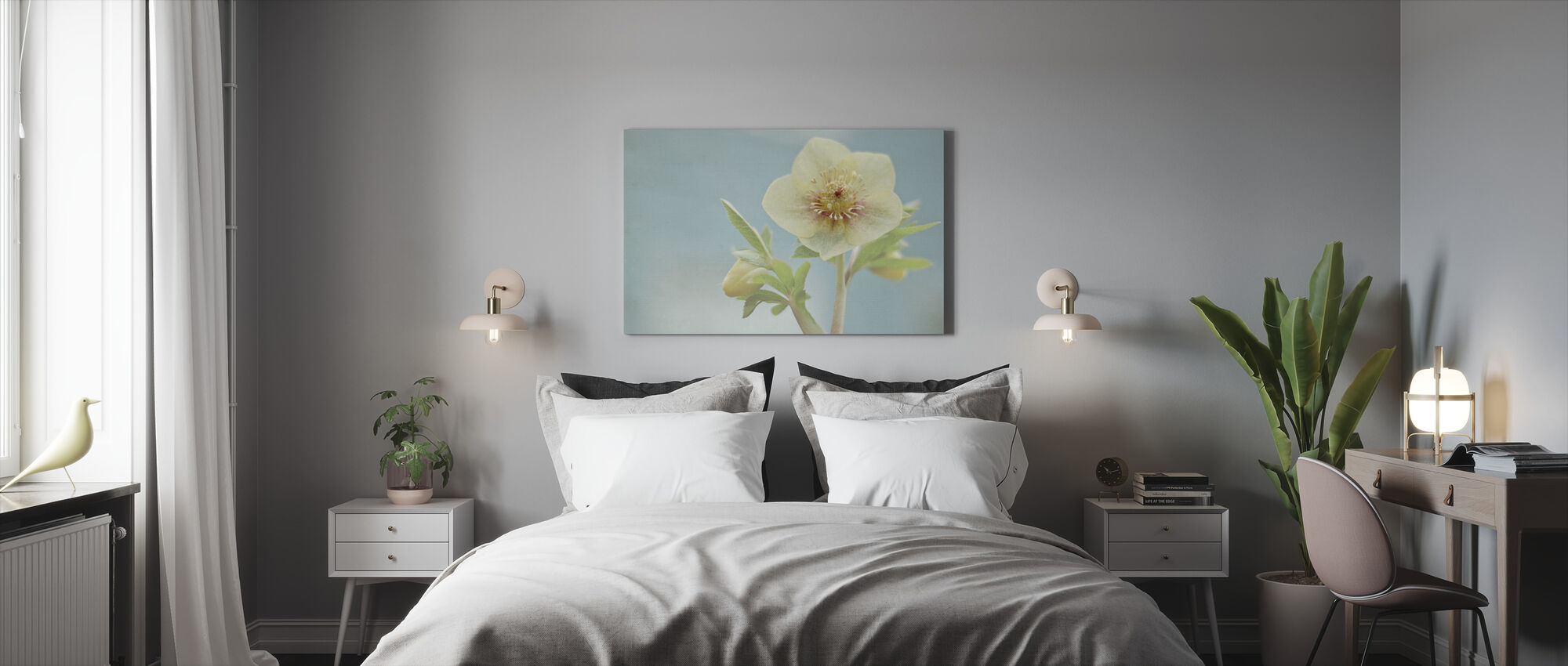 Heliotrope 2 - Canvas print - Bedroom