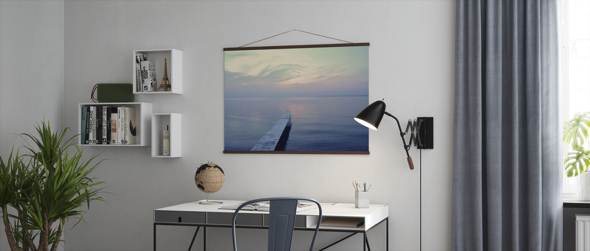The Long Dock - Poster - Office