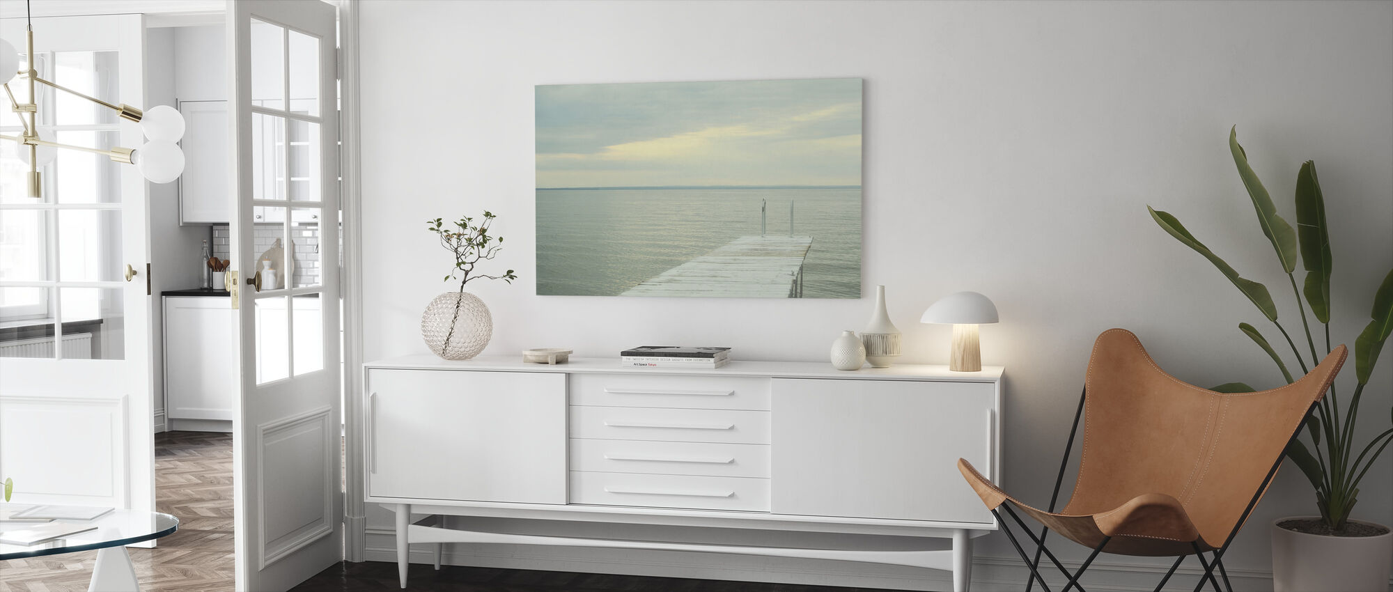 To the Water - Canvas print - Living Room