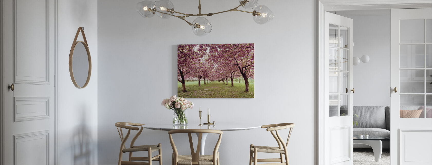 Hall of Cherries - Canvas print - Kitchen
