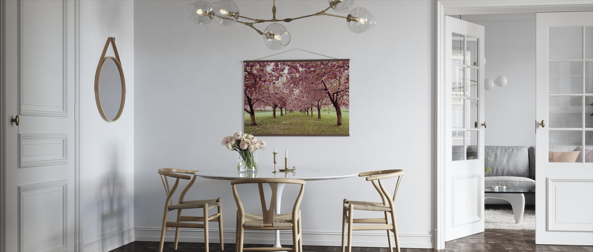 Hall of Cherries - Poster - Kitchen