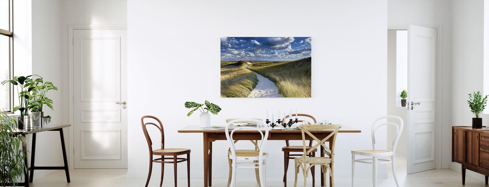 Philbin Beach - Billede på lærred - Køkken