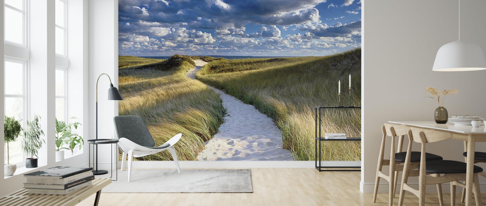 Philbin Beach - Wallpaper - Living Room